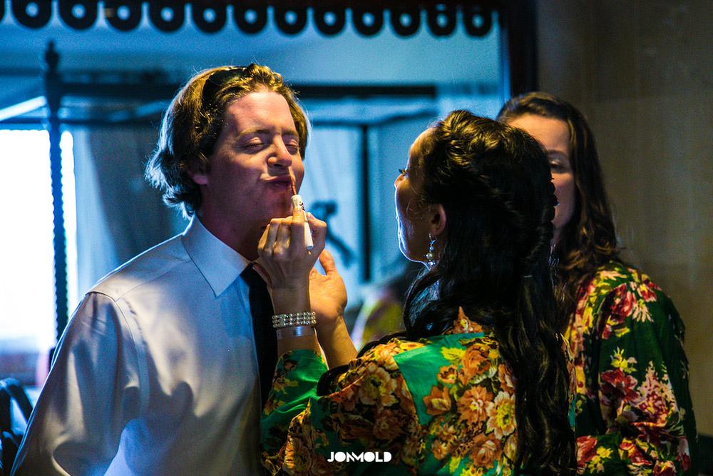 Sean Lipstick Dominican Wedding