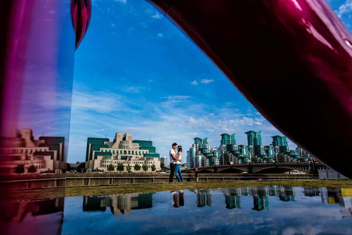 London Engagement // Fay & Stephen