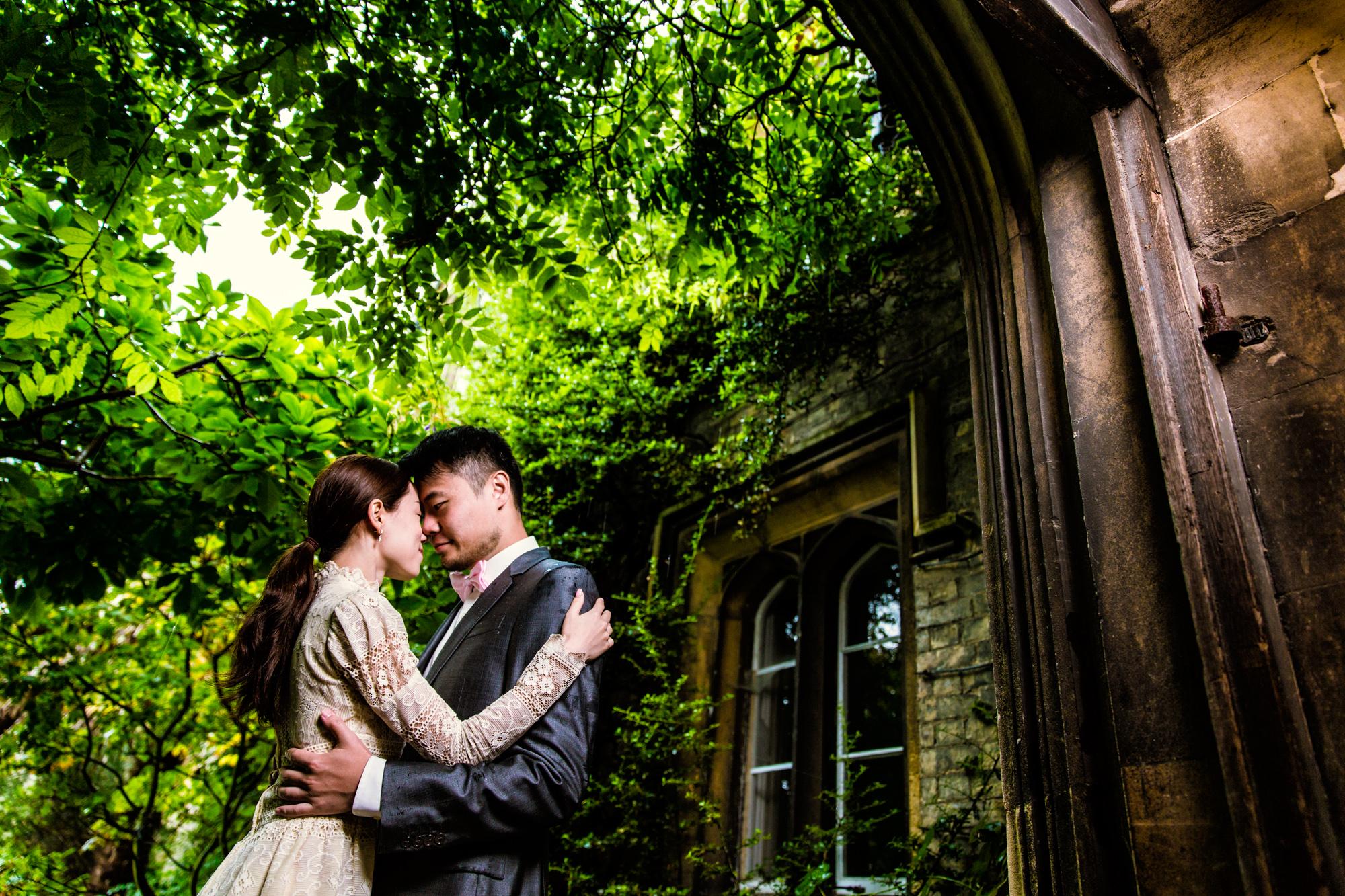 Peterhouse Engagement // Vivian & Leo