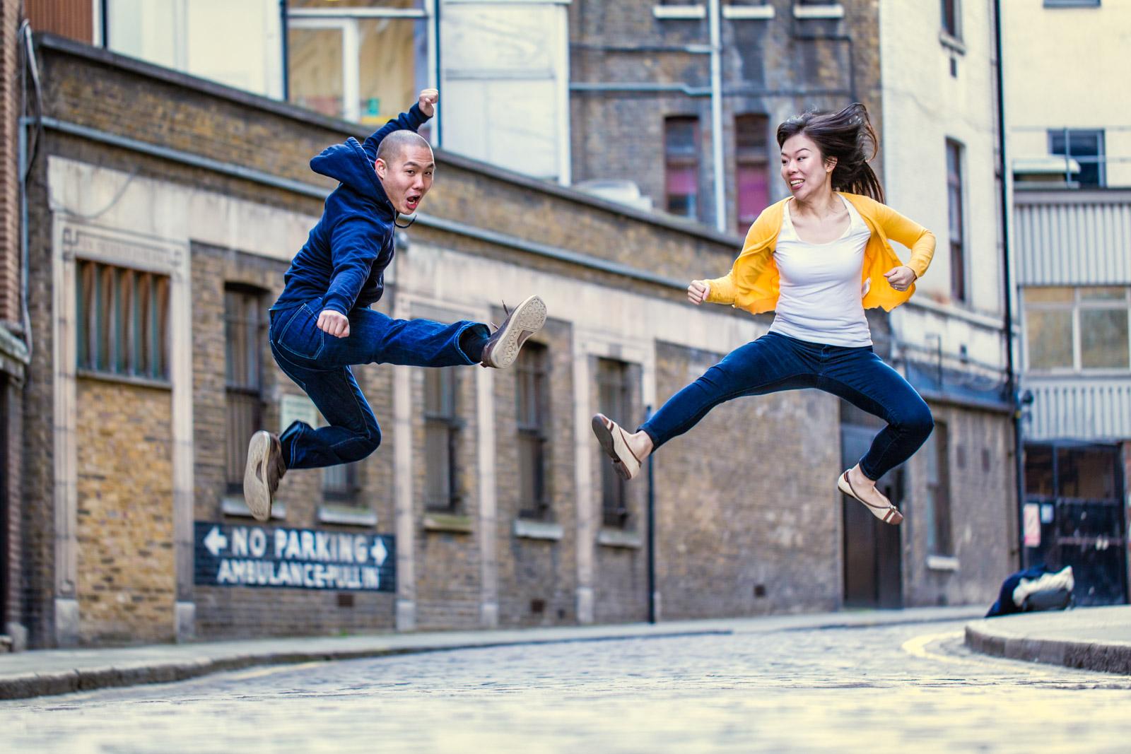 Miranda & Howell // London Bridge Engagement