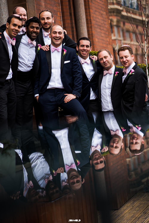 Jewish Weddding at st pancras renaissance hotel